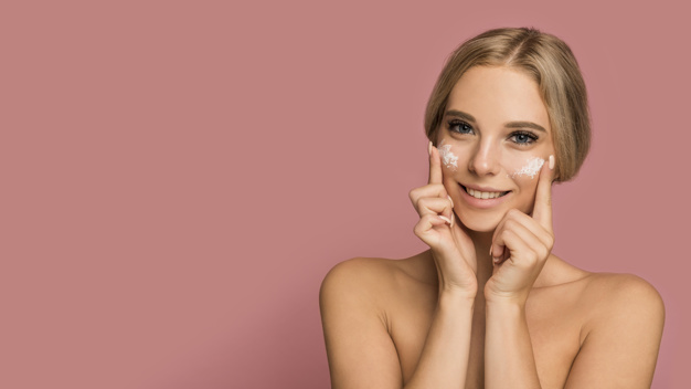 Skincare products and Facials