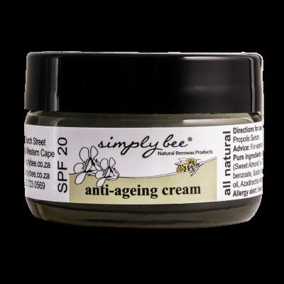 natural anti- aging cream
