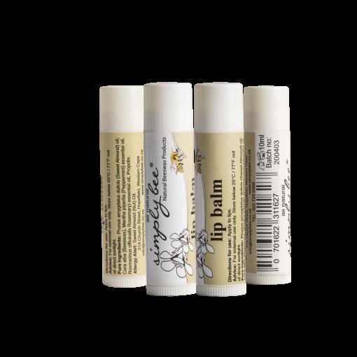 Natural and healing beeswax lip balm